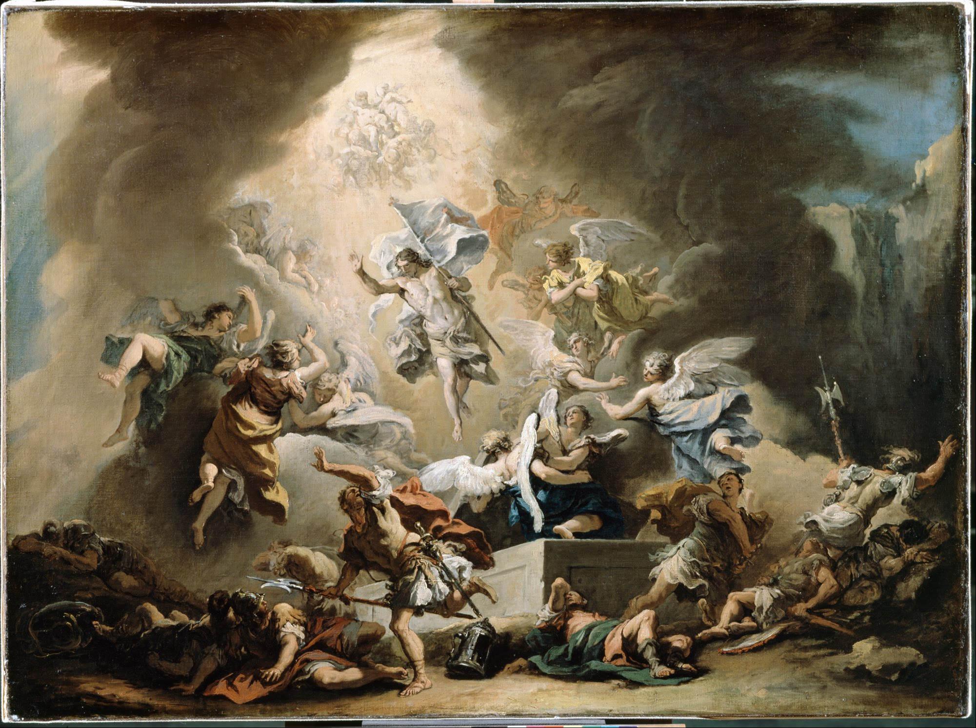 resurrection painting