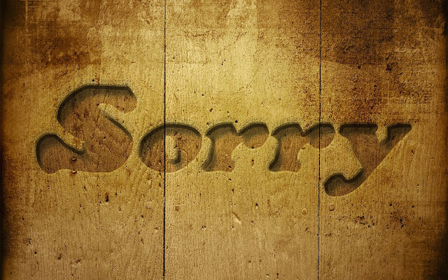 You're Not a Leader If You Never Say You're Sorry
