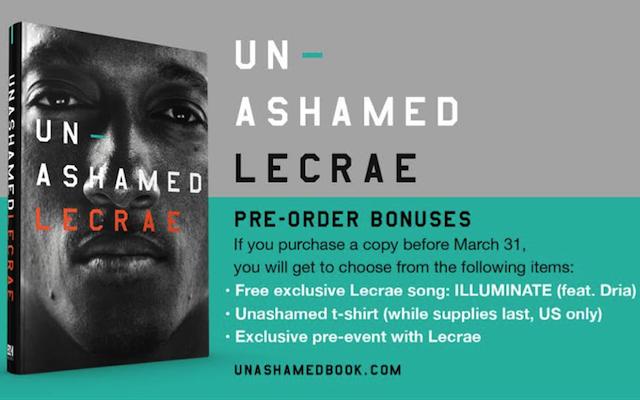 GIVEAWAY] Unashamed: The Lecrae Story – Eric Geiger