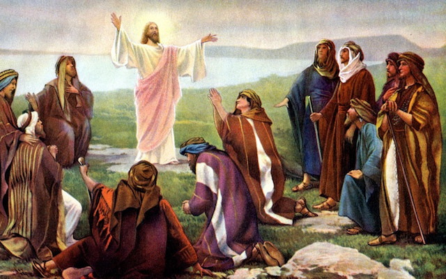 six ways jesus led his disciples after the resurrection eric geiger