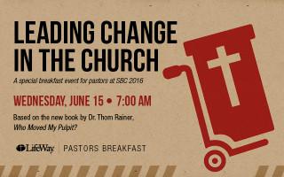 Join Us at the LifeWay Pastors Breakfast at SBC 2016