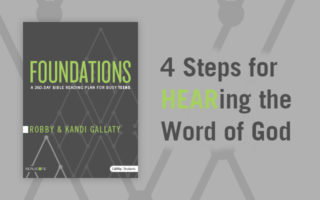 [GIVEAWAY] Foundations for Personal Bible Study