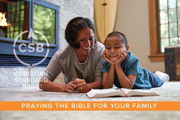 [GIVEAWAY] Praying the Bible for Your Family