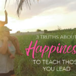 [GIVEAWAY] 3 Truths About Happiness
